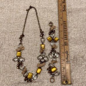 J. Crew Necklace and Bracelet Set